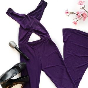 Selena Quintanilla Purple Jumpsuit Costume
